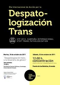 Día por la despatologización trans.